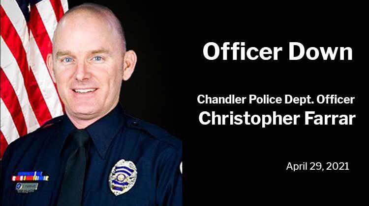 Officer Down: Chandler Police Department Officer Christopher Farrar