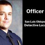 San Luis Obispo Police Department Detective Luca Benedetti