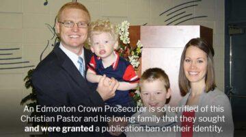 Edmonton Crown Prosecutor Terrified of Pastor James Coates and his loving family