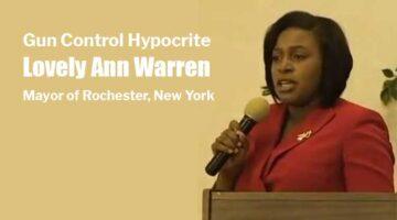 Gun Control Hypocrite Lovely Ann Warren