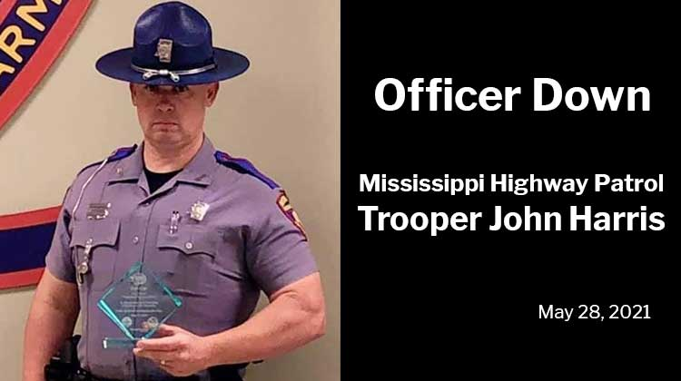 Mississippi Highway Patrol Trooper John Harris