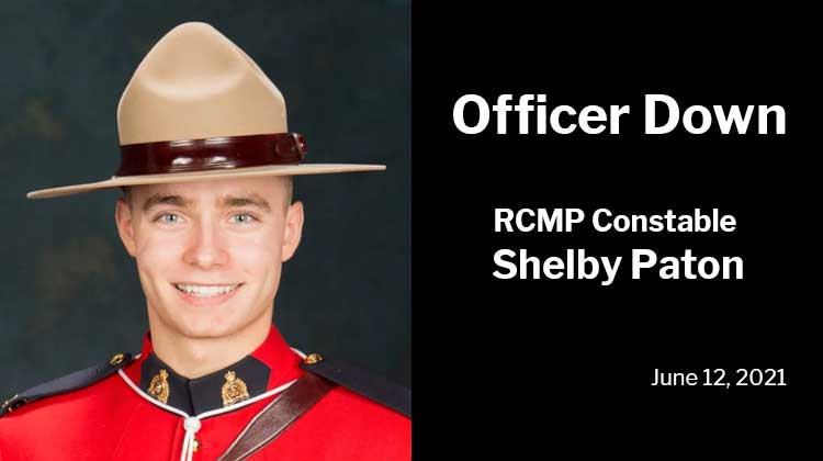 Officer Down: RCMP Constable Shelby Patton