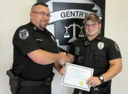 Gentry Police Officer Tyler Kell