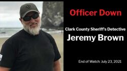 Clark County Sheriff's Office Detective Jeremy Brown
