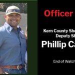 Officer Down: Kern County Sheriff's Office Deputy Sheriff Phillip Campas