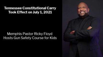 Memphis Pastor Ricky Floyd Hosts Gun Safety Course for Kids