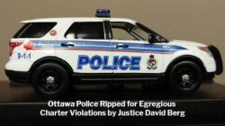 Ottawa Police Ripped for Charter Violations by Justice David Berg