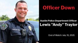 """Officer Down: Austin Police Department Officer Lewis """"Andy"""" Traylor"""
