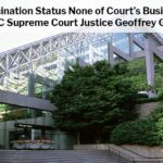 Vaccination Status None of Court's Business says BC Justice Geoffrey Gomery