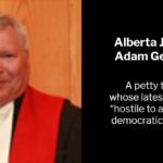 Justice Adam Germain - Hostile to a Free and Democratic Society