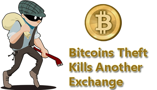 Bitcoins-Theft-Kills-Another-Exchange