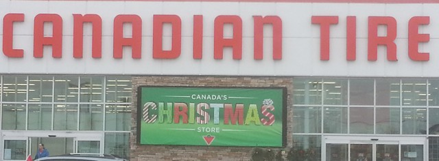 Canadian Tire Christmas