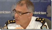 Fredericton Police Chief Barry MacKnight