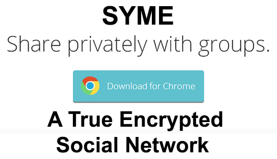 Syme-Encrypted-Social-Network